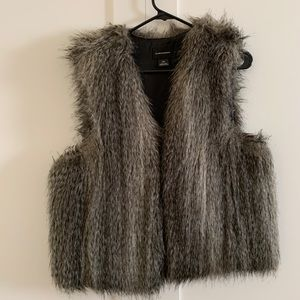 CLUB MONACO FAUX FUR